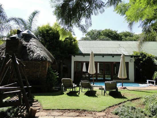 Natanja Guest House & Self-catering : back of the House
