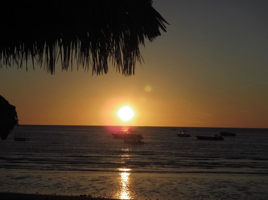 Andilana Beach Resort : tramonto