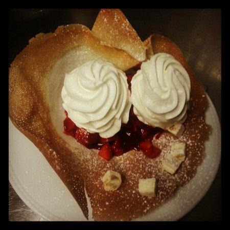 New Jack Cafe : fraise melba