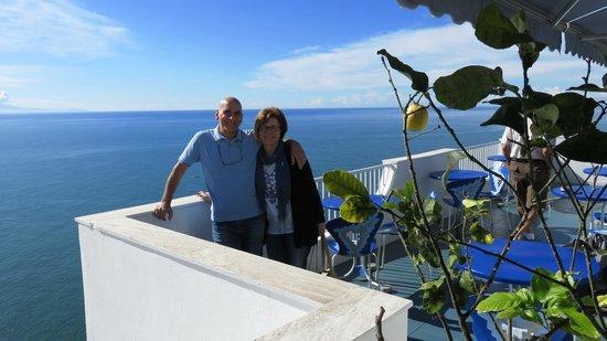 Hotel Holiday: Dalla terrazza