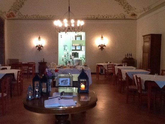 Villa Buoninsegna : Sala colazione