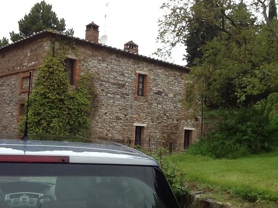 Villa Buoninsegna : la villa