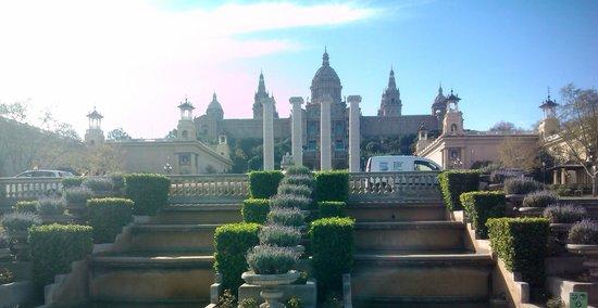 Parque de Montjuic (Parc de Montjuïc): Palácio Montjuic