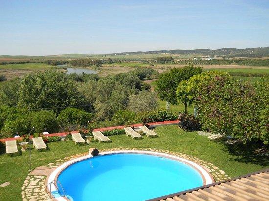 Hacienda El Santiscal: vue de notre chambre
