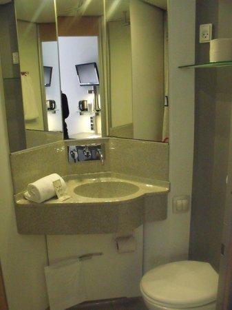 Cabinn City Hotel: maledetto bagno