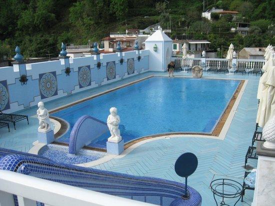Terme Manzi Hotel & Spa : piscina sul tetto