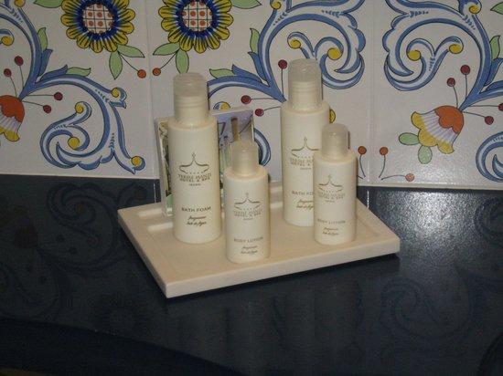 Terme Manzi Hotel & Spa: set bagno