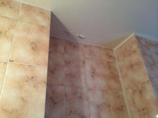 Hotel George Sand : Plafond salle de bain