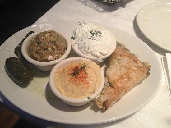 The Greek: Greek Vegetarian Platter