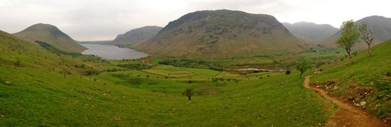 Restaurant at Wasdale Head Inn: Coming back from Scafell Pike