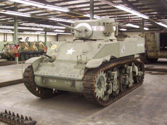 Tank Museum: Sheridan