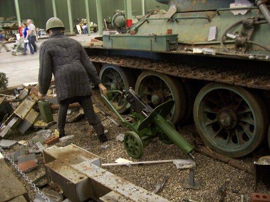 Tank Museum: T-38 & Red Machine Gun