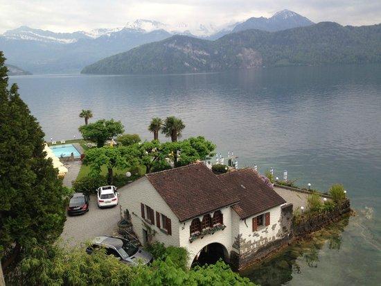 Seehof du Lac Hotel: Vierwaldstätter See