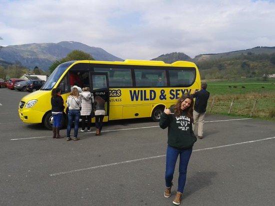 Haggis Adventures: Thru the fields of Scotland!