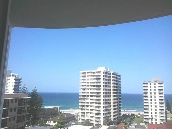 Surf Parade Resort: nice view from balcony