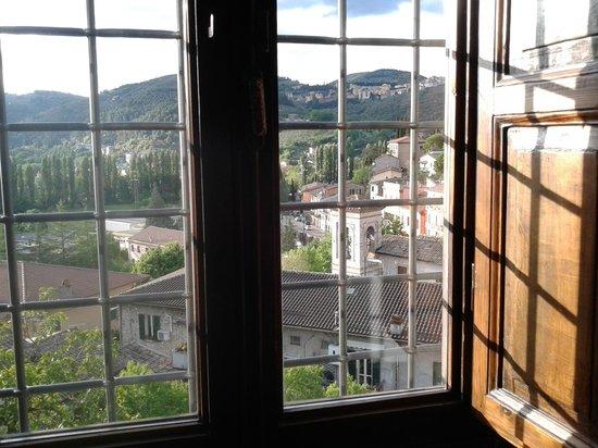 La loggia sul Nera : Vista da una delle due camere