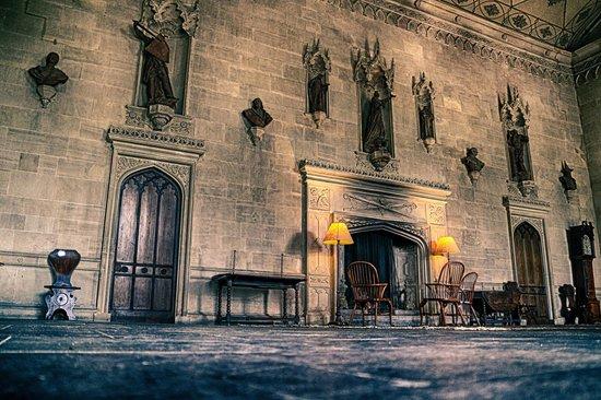 Lacock Abbey: Hall