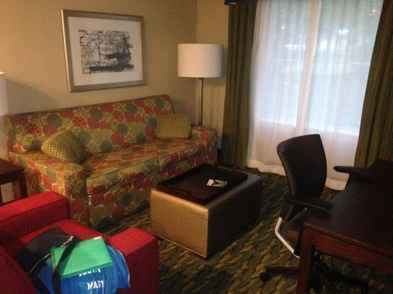 Homewood Suites by Hilton Orlando Airport: Living Area