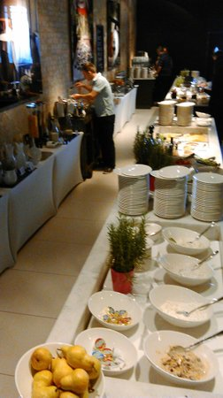 andel's by Vienna House Lodz: Breakfast