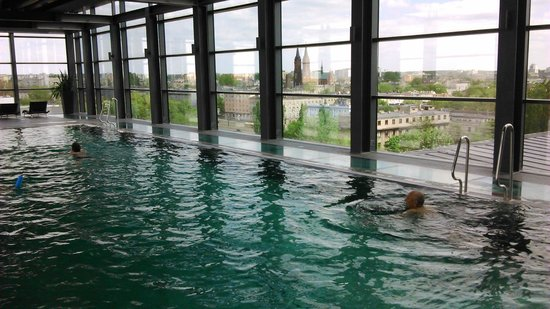 andel's by Vienna House Lodz: Pool