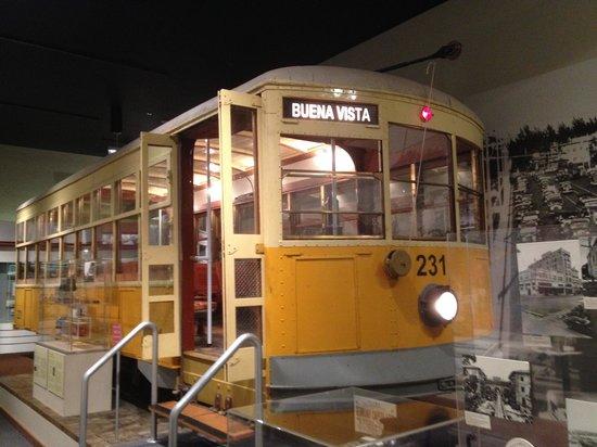 HistoryMiami: old Miami Trolley car
