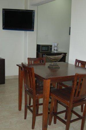 Premier Hotel Suites: Departamento doble 4 personas