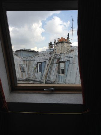 New Orient Hotel: View across the Paris rooftops from my bedroom window