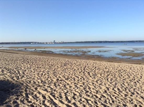 Tallinn Free Tour: Пляж, уторо, сентябрь, 24 тепла.