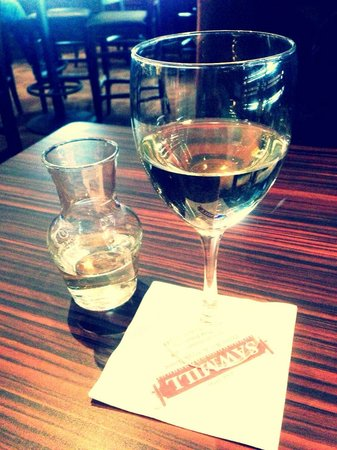 Sawmill Prime Rib & Steakhouse-FORT SASKATCHEWAN: Little Vino goes great with any meal