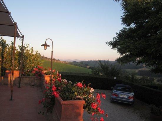 Villa Palagetto : relax al tramonto