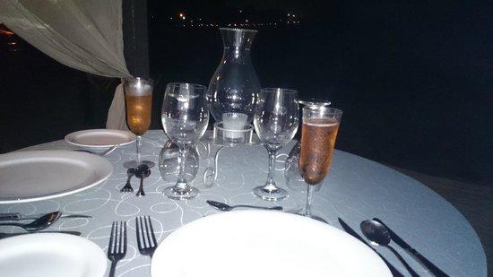 Dreams Puerto Aventuras Resort & Spa: Cena remantica