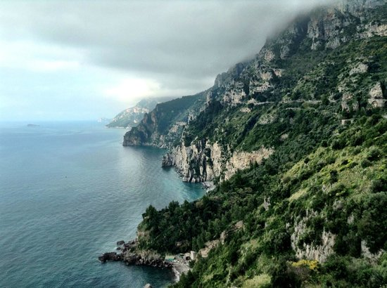 Sorrento House Travel : This is on the drive to the Amalfi coast. Gaetano stopped the car and I took this shot with my I