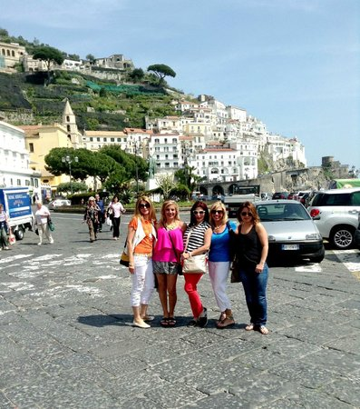 Sorrento House Travel : One of the beautiful spots we visited on the Amalfi coast.