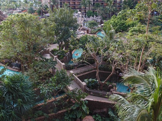 Aulani, a Disney Resort & Spa: View of Lazy River