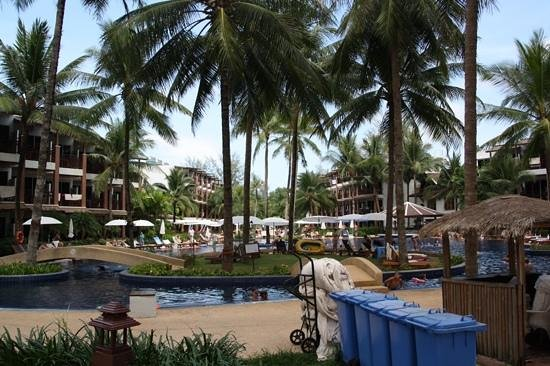 Sunwing Bangtao Beach : poolområde