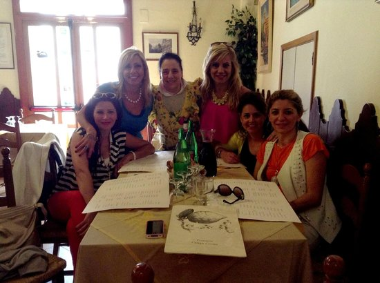 Sorrento House Travel: This was a great Taverna that Gaetano took us to and the owner insisted on ordering for us. Amaz