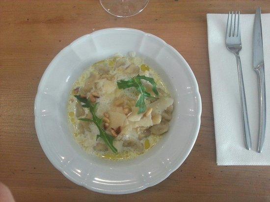 La Roustide : Gnocchis parmesan basilic