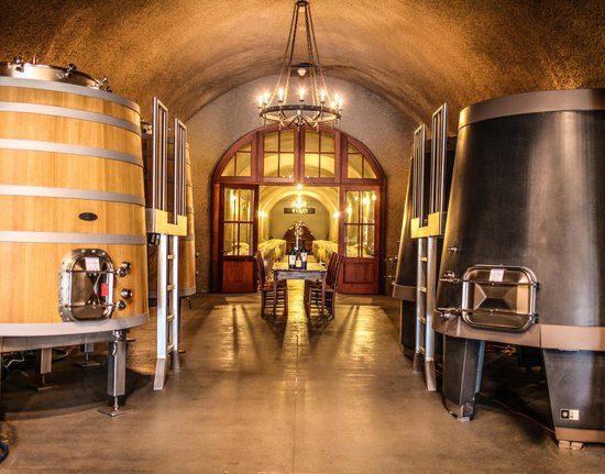 Staglin Family Vineyard: The Winery Caves