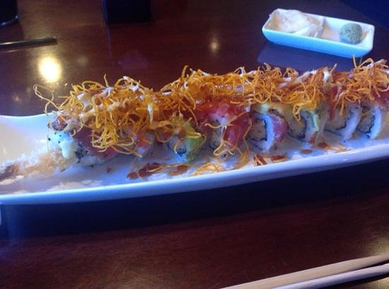 fukuda sushi: Ghost Rider roll