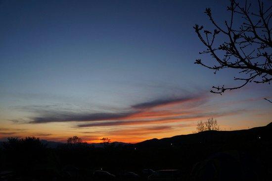 Kuju Highland : 久住の夕焼けです。