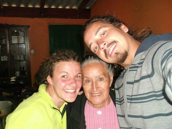 Casa Aida : Dernière discussion autour d'un bon thé à la figue