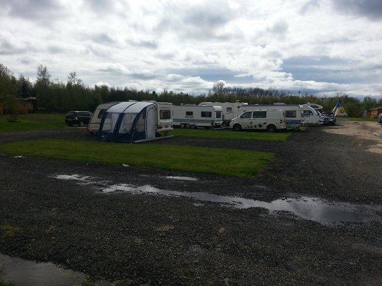 Felmoor Park: Touring Caravan Area