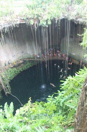 Cenote Ik kil: cenote