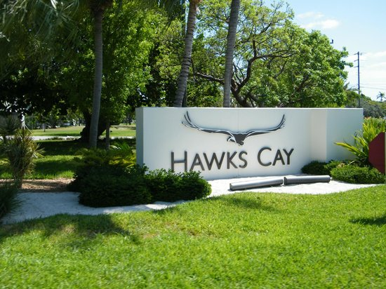 Hawks Cay Resort : Sign