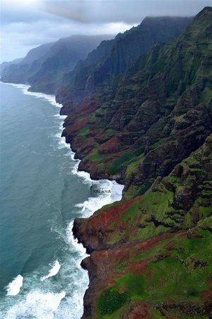 Mauna Loa Helicopter Tours: napali coast