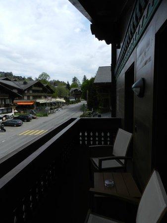 Wellness & Spa Hotel Ermitage: Zimmer mit Blick auf die Strasse