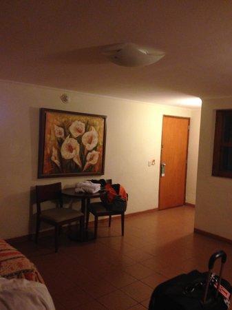 Hotel Las Dunas: The room