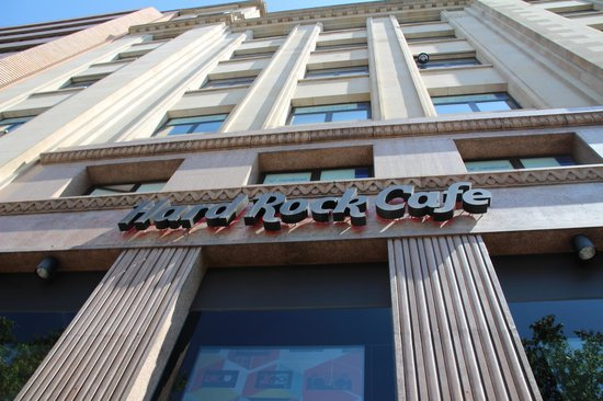 Hotel SB Icaria Barcelona: Hard rock cafe