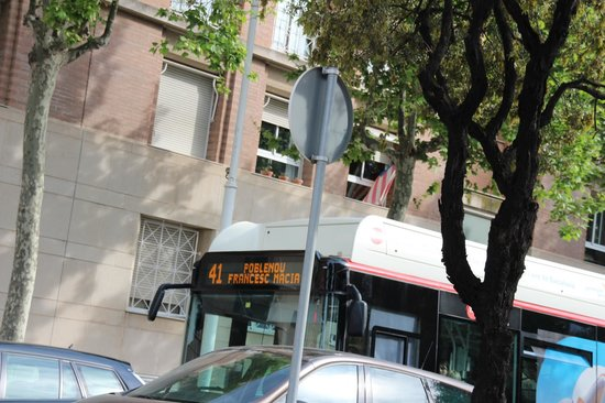 Hotel SB Icaria Barcelona: Bus nr. 41