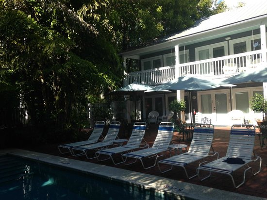 Ambrosia Key West Tropical Lodging: More lap pool area